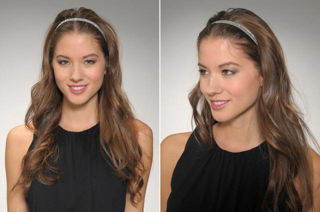 Silver Glitter Headbands