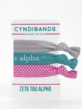 Zeta Tau Alpha Hair Ties