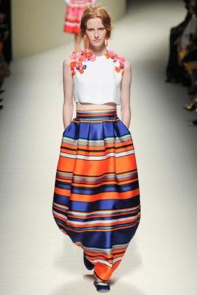 blue and orange stripes