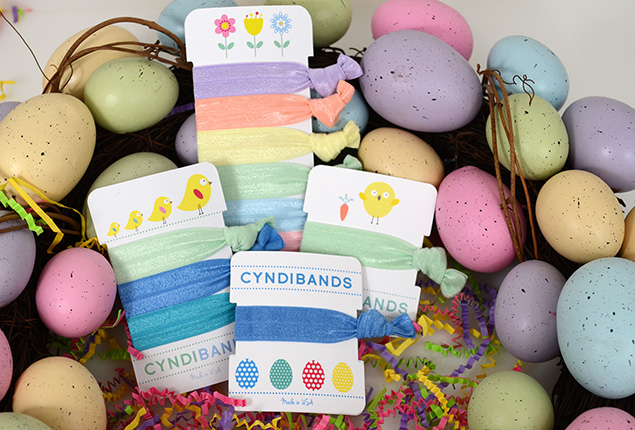 Easter 2015 Hair Ties